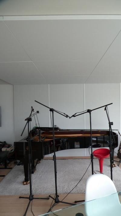 Opname-lokaal, Dirk Herten, pianist